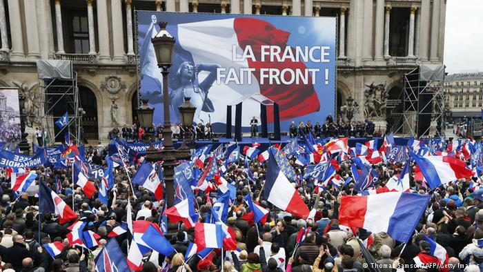 France's Front National has seen massive gains in voter popularity and its leader is twice as popular at President Francois Hollande