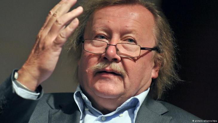 Streitbarer Philosoph -  Peter Sloterdijk foto: dpa