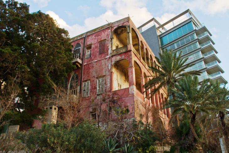 Beirut's nineteenth century Rose House (photo: Changiz M. Varzi)