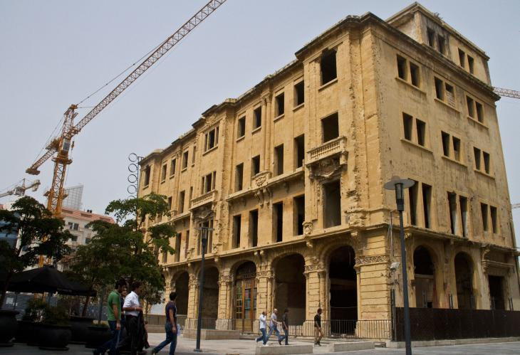 The last remaining building of the Beirut souks (photo: Changiz M. Varzi)