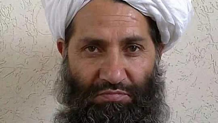 Mullah Haibatullah Achundsada, Foto: picture-alliance/dpa/Afghan Islamic Press via AP