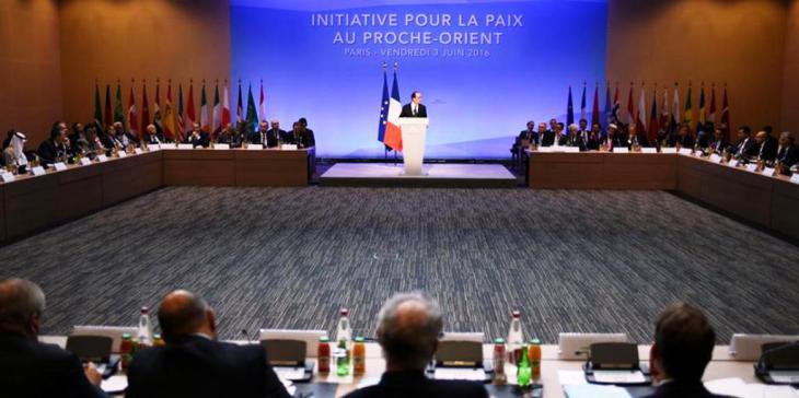 Nahostfriedenskonferenz in Paris am 3. Juni 2016; Foto: