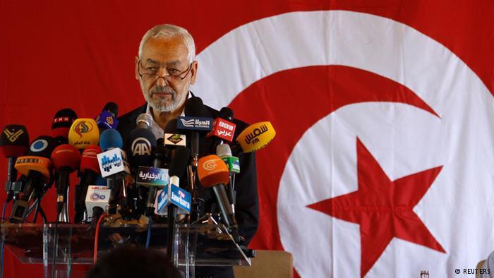 Ennahda-Chef Rachid al-Ghannouchi; Foto: REUTERS/ Zoubeir Souissi