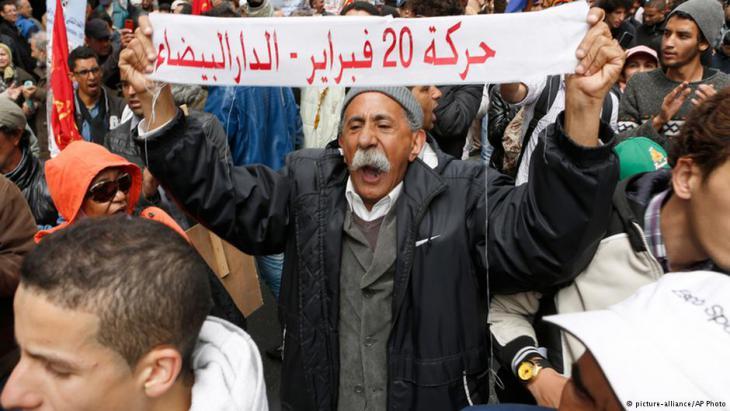 "Protest der ""Bewegung des 20. Februar"""