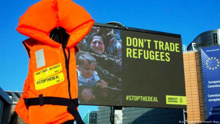 Menschenrechtsorganisationen lehnen den EU-Türkei-Deal ab. Foto: dpa