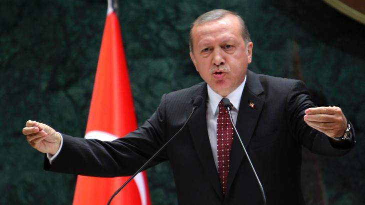 Der türkische Präsident Erdoğan; Foto: Getty Images/AFP/A. Altan