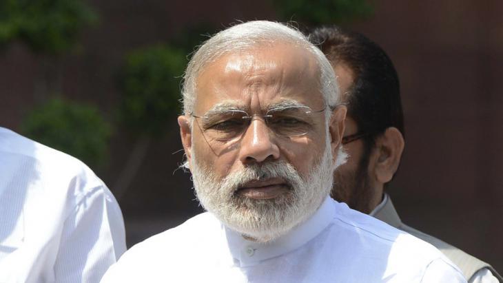 Indiens Ministerpräsident Narendra Modi; Foto: picture-alliance/Xinhua