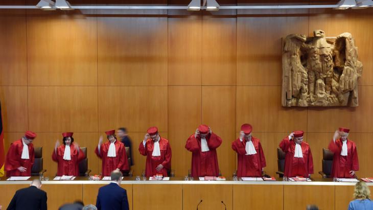 Bundesverfassungsgericht in Karlsruhe; Foto: picture alliance/dpa/u.deck