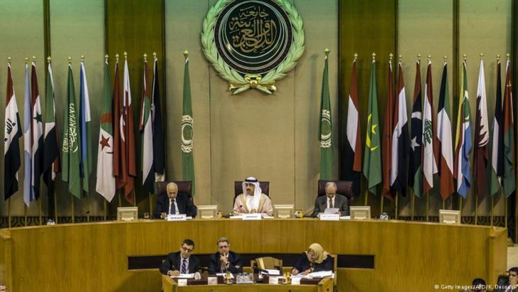 Außenminister der arabischen Liga bei einem Treffen in Kairo (Archivbild)