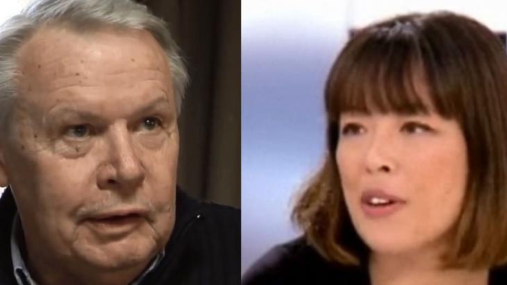Französische Journalisten Catherine Graciet und Eric Laurent  (Foto: YouTube/TV5Monde and Journalisme UC)