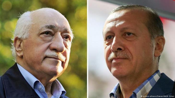 Ehemalige Verbündete: Gülen (links) und Erdogan