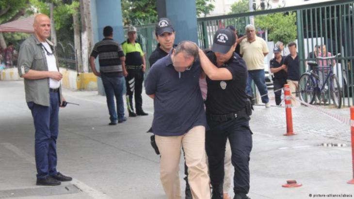 Verhaftungen an einer Universität in Istanbul.  Foto: dpa/Picture Allianz