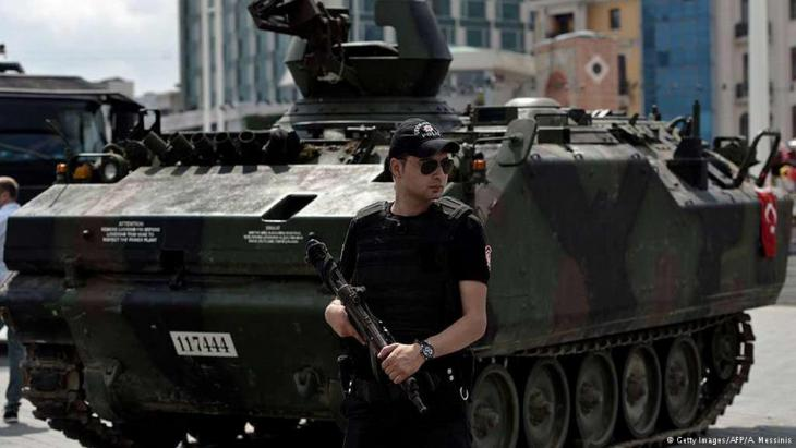 Türkischer Soldat in Ankara. Foto: Getty Images /AFP