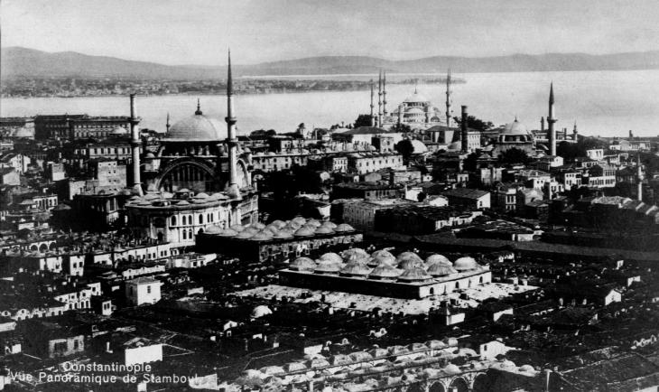 Historische Ansicht Istanbuls; Quelle: wikipedia