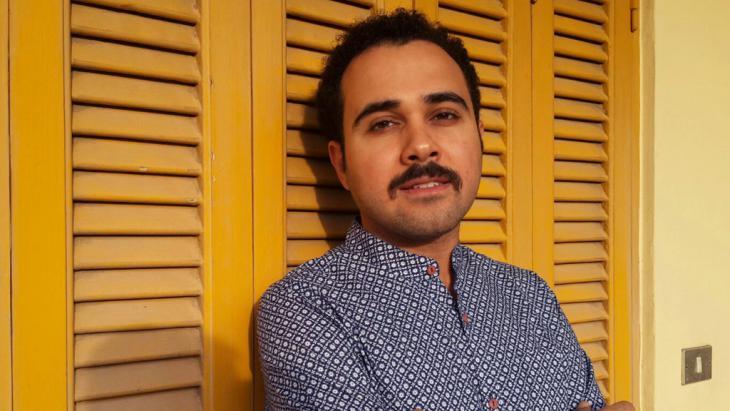 Der ägyptische Autor Ahmed Naji; Foto: picture-alliance/dpa/Y.H. El Din