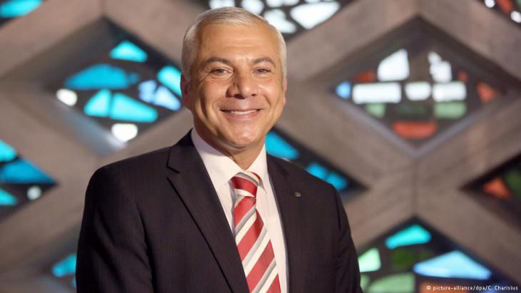 Daniel Abdin, Vorsitzender des islamischen Zentrums Al-Nour in Hamburg; Quelle: picture-alliance/dpa/C. Charisius