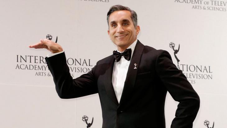 Bassem Youssef; Foto: picture-alliance/dpa/A. Gombert