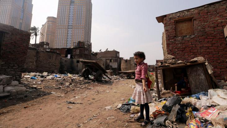 Armensiedlung im Kairoer Viertel Ramlet Bulaq, Foto: picture-alliance/dpa/K. Elfiqi