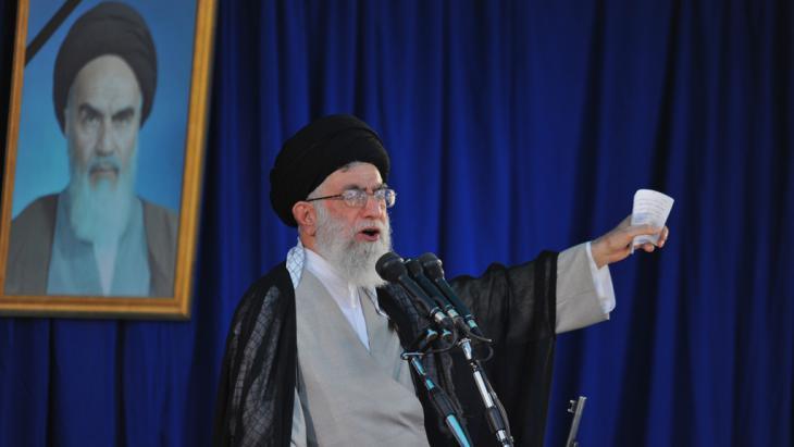 Ayatollah Ali Khamenei; Foto: Sajad Safari/AFP/Getty Images
