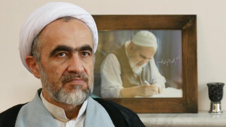 Ahmad Montazeri, reformorientierter iranischer Geistlicher. Er ist der Sohn des verstorbenen Ayatollah Hossein Ali Montazeri; Foto: Emruz
