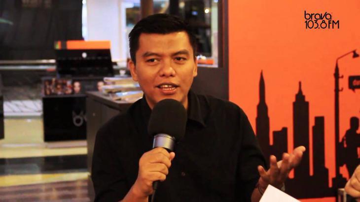 Der indonesische Publizist Noor Huda Ismail; Quelle: YouTube