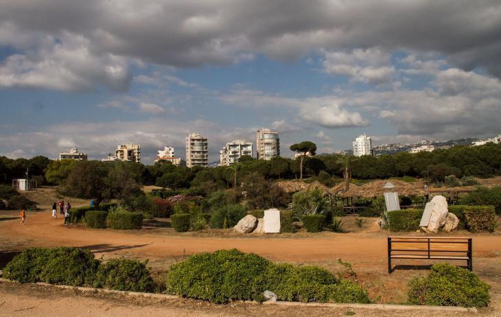View of Horsh Beirut (photo: Changiz M. Varzi)