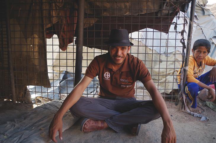 Suleiman Hassaseen, einer von rund 20 Mitarbeitern der Lodge; Foto: Claudia Mende