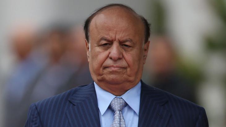 Jemens Präsident Abd-Rabbu Mansour Hadi; Foto: Getty Images/S. Gallup