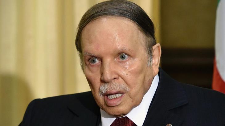 Algeriens Präsident Bouteflika; Foto: Getty Images/AFP/E. Feferberg