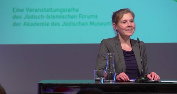 Sarah Albrecht: Islamwissenschaftlerin an der Freien Universität Berlin; Foto: Sarah Albrecht