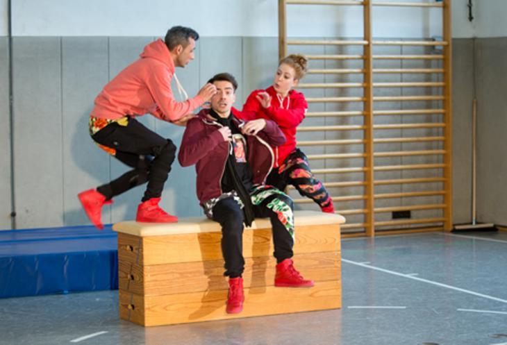 Jungen Theater Augsburg; Foto: Frauke Wichmann