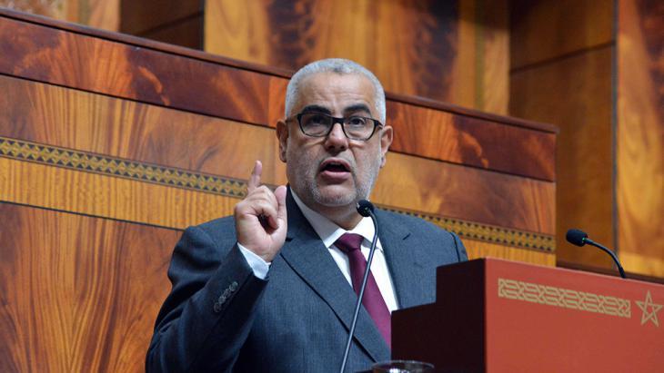 Marokkos Ministerpräsident Benkirane; Foto: picture-alliance/AA/M. Houbais