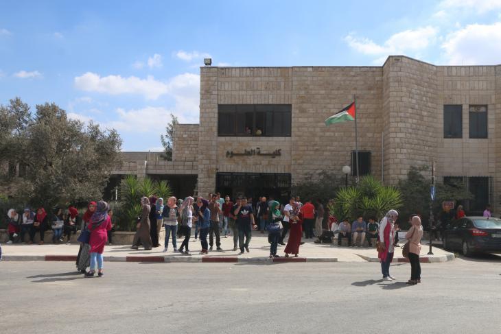 Die Universität Birzeit bei Ramallah; Foto: Ylenia Gostoli