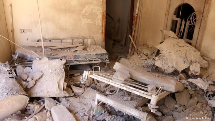 Zerstörtes Krankenhaus in Aleppo; Foto: Reuters