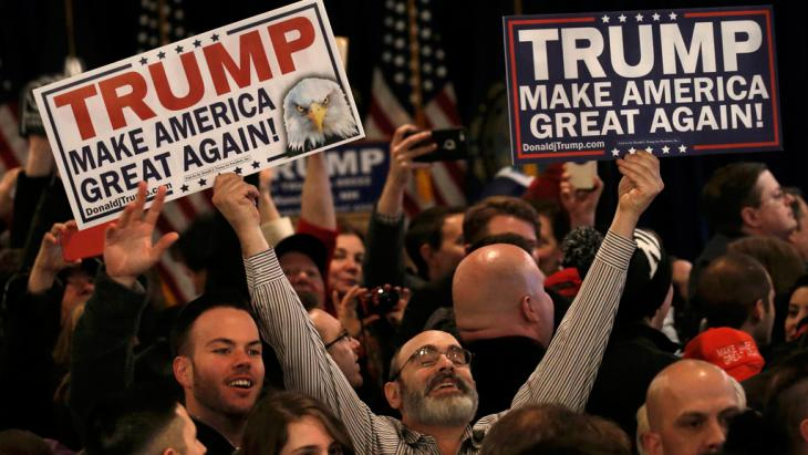 Trump-Anhänger in New Hampshire; Foto: Reuters/M. Segar