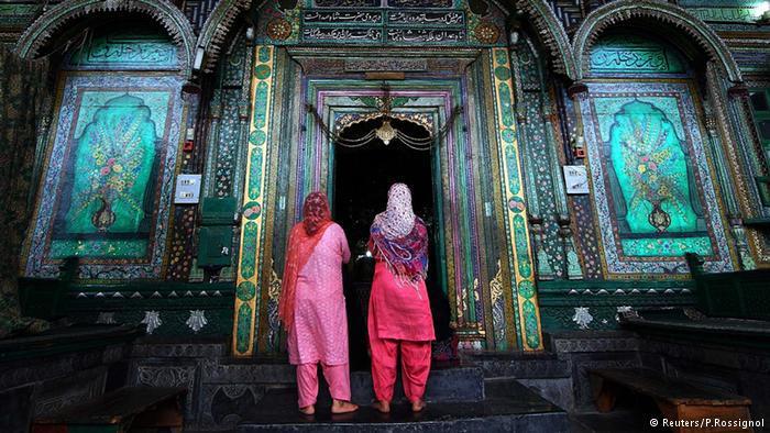 Muslimische Frauen in Kaschmir; Foto: Reuters/P.Rossignol