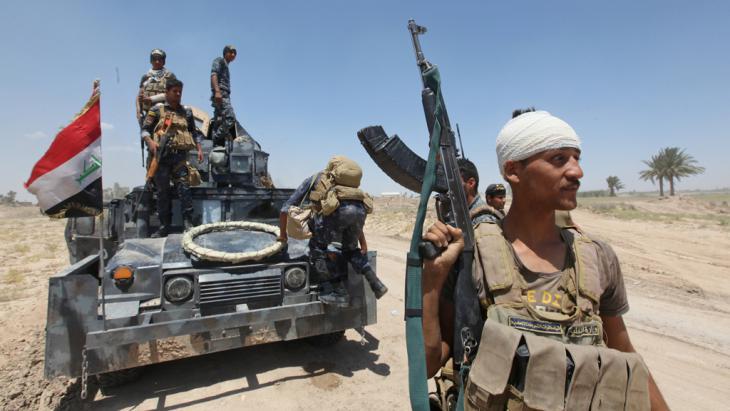 Irakische Armee-Einheiten; Foto: Reuters/A. Al-Marjani