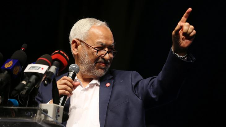 Rachid al-Ghannouchi; Foto: picture-alliance/dpa