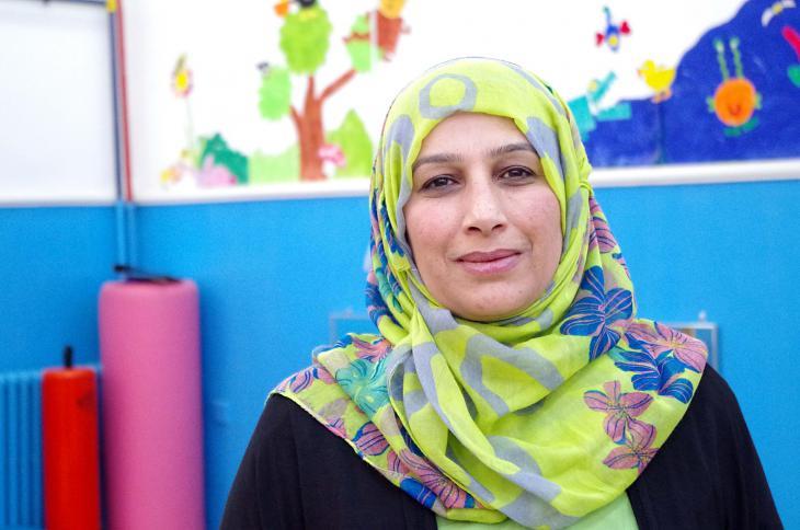 Die Psychologin Salwa Jarah; Foto: Claudia Mende