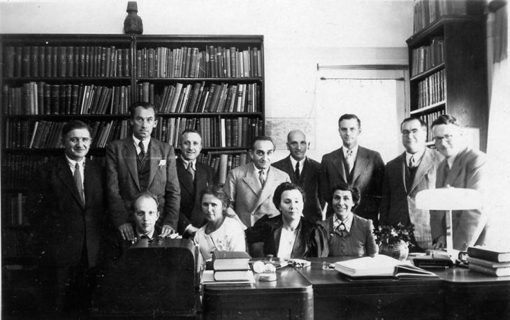 Jüdische Akademiker wurden nach der Machtergreifung der Nazis dazu gezwungen, Nazi-Deutschland in den 1930er Jahren zu verlassen; Foto: mindjazz pictures
