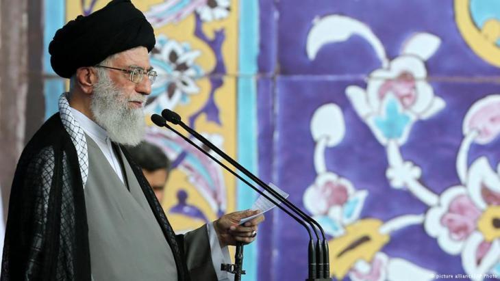 Revolutionsführer Ali Khamenei; Foto: picture-alliance/AP