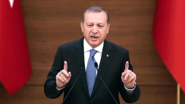 Der türkische Präsident Recep Tayyip Erdoğan; Foto: Getty Images/AFP/A. Altan