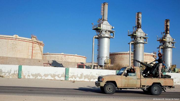 "Das ""Zueitina Oil Terminal"" westlich von Bengasi; Foto: Reuters/E. Omran Al-Fetori"