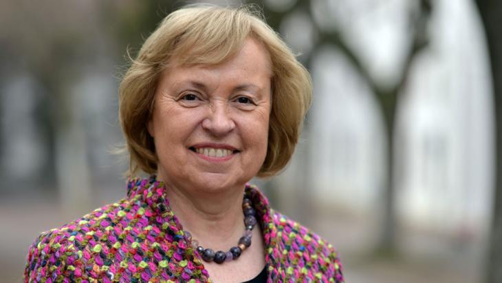 Staatsministerin im Auswärtigen Amt, Dr. Maria Böhmer; Foto: picture-alliance/dpa/H. Schmidt
