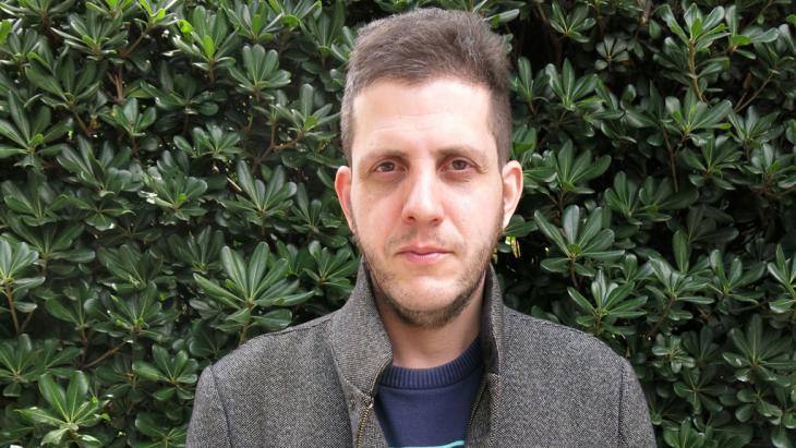 Der israelische Autor Nir Baram; Foto: picture-alliance/AP Photo/B. Bautista