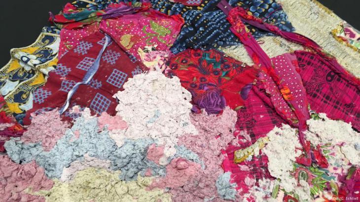 """Taqwa Alnaqbis Werk im Rahmen der Ausstellung """"Art Nomads- Made in the Emirates""""; Quelle: DW"""