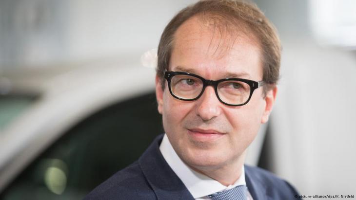 Verkehrsminister Alexander Dobrindt; Foto: picture-alliance/dpa