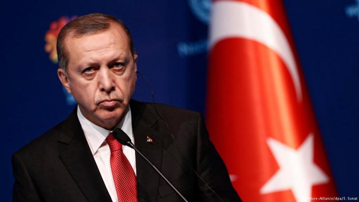 Der türkische Präsident Recep Tayyip Erdoğan; Foto: picture-alliance/dpa