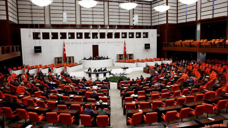 Das türkische Parlament in Ankara; Foto: