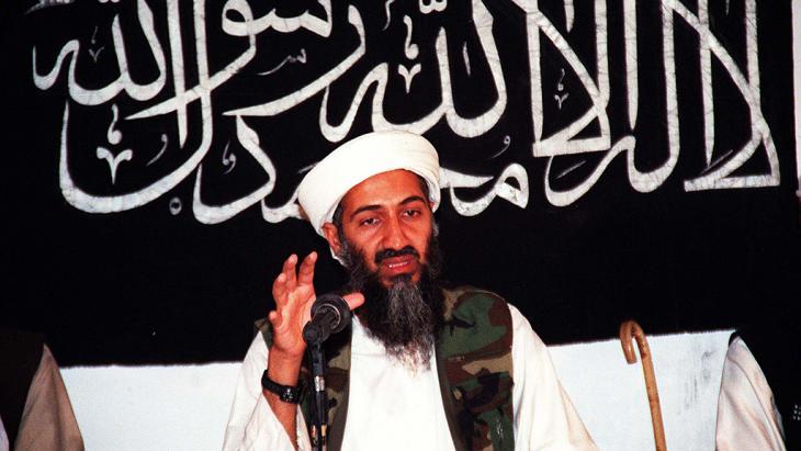 Saudischer Terrorpate Usama Bin Laden; Foto: Getty Images/AFP